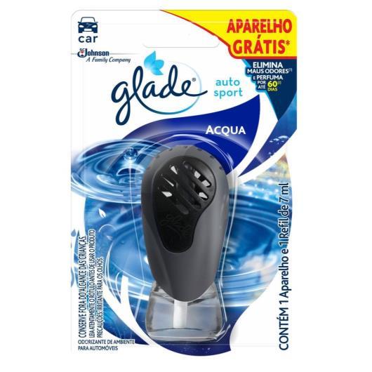 Odorizante + Aparelho gratis    acqua  auto sport  Glade    1un - Imagem em destaque