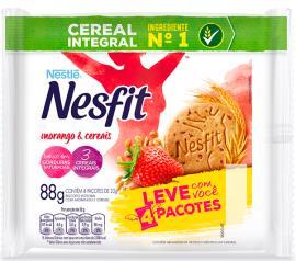 Biscoito morango e cereais Nesfit Nestlé 88g