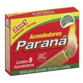 Acendedor 2 em 1 Paraná c/ 5 unidades