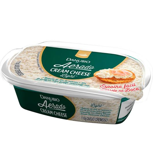 Cream cheese aerado light Danubio 110g - Imagem em destaque