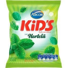 Bala hortelã Kids Arcor 150g