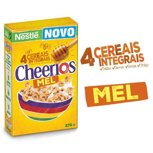 Cereal Matinal CHEERIOS Mel 270g - Imagem em destaque
