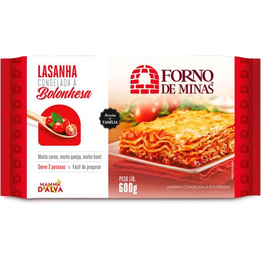Lasanha à Bolonhesa Forno de  Minas 600g - Imagem em destaque