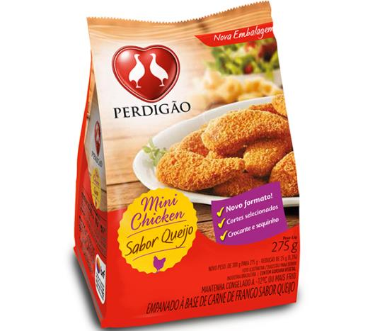 Empanado de frango congelado queijo Perdigão 275g - Imagem em destaque
