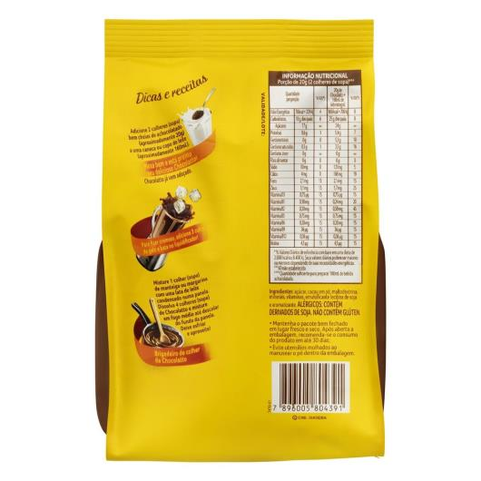 Achocolatado Pó 3 Corações Chocolatto Pacote 300g - Imagem em destaque