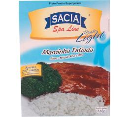 Prato pronto Sacia Spa Line Light Maminha fatiada, arroz e brócolis 330g