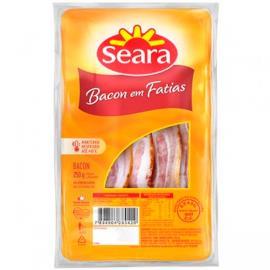 Bacon fatiado Seara Gourmet 250g