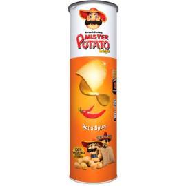 Batata Mr.Potato Crisps Pimenta Hot 160g