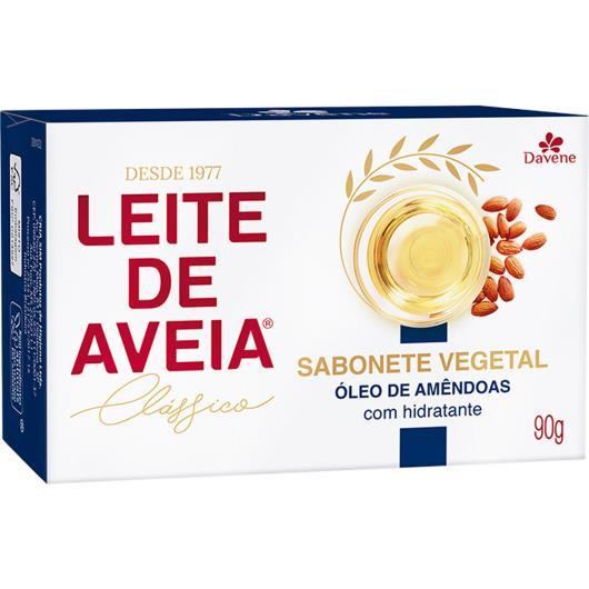 Sabonete Leite de Aveia Davene Oleo de Amêndoas 90g - Imagem em destaque