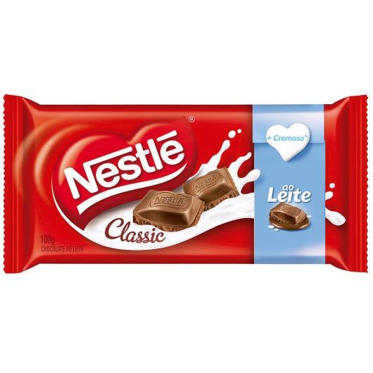 Chocolate Nestlé CLASSIC ao Leite 100g - Imagem em destaque