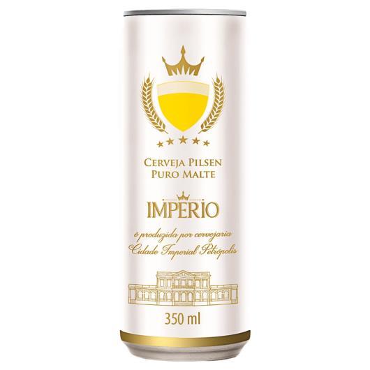Cerveja Império Pilsen Lata 350ml - Imagem em destaque