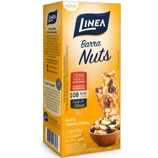 Barra Linea Nuts Tradicional 50g - Imagem em destaque
