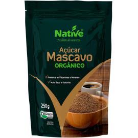 Açúcar Native Mascavo Orgânico 250g