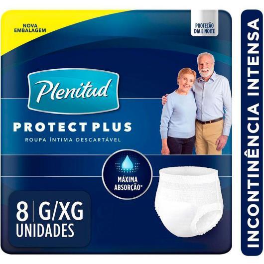Roupa Íntima PLENITUD Protect Plus G/XG - 8 unidades - Imagem em destaque