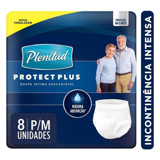 Roupa Íntima Descartável Plenitud Protect Plus P/M Pacote 8 Unids - Imagem em destaque