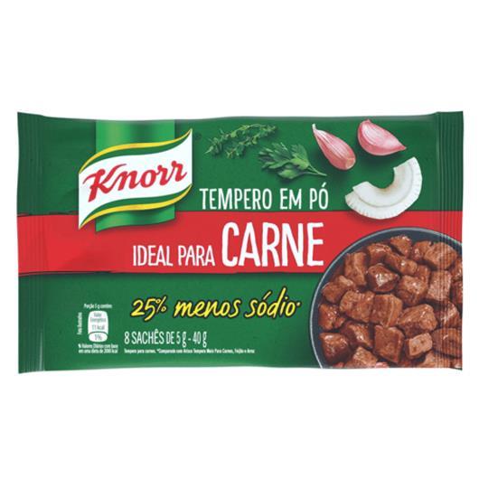 Tempero em Pó Knorr  Carne 40 GR - Imagem em destaque