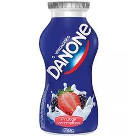 Iogurte Liquido Sabor Frutas Vermelhas Danone 170g