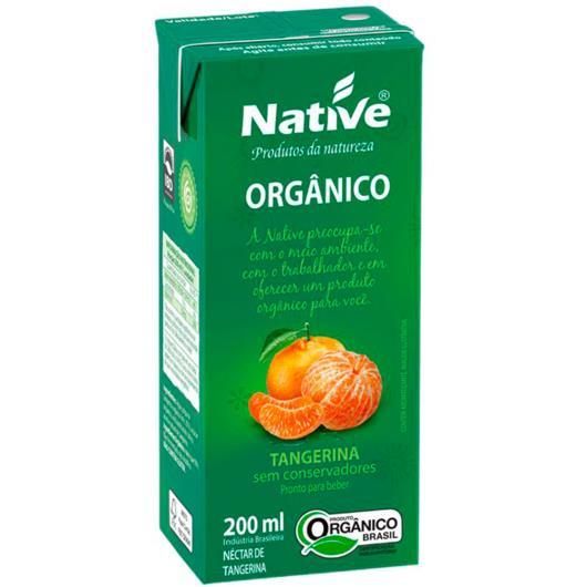 Néctar  Orgânico de Tangerina Native 200ml - Imagem em destaque