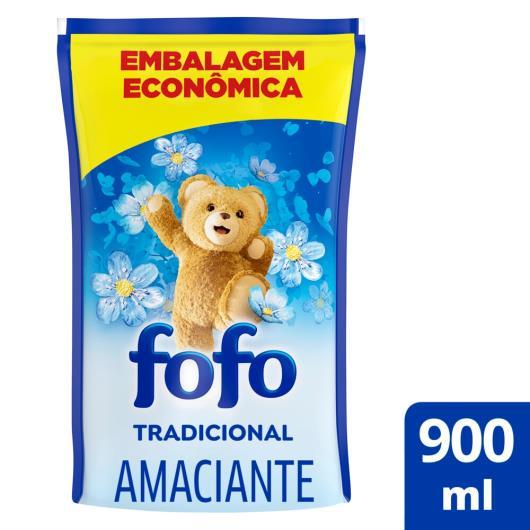 Amaciante Fofo Concentrado Tradicional Refil 900ml - Imagem em destaque
