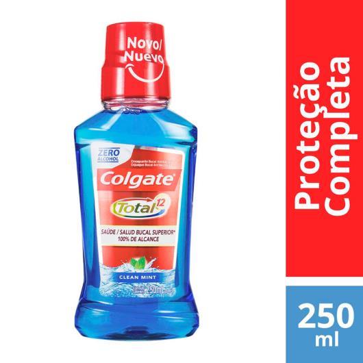 Enxaguante Bucal Colgate Total 12 Clean Mint Sem Álcool 250ml - Imagem em destaque