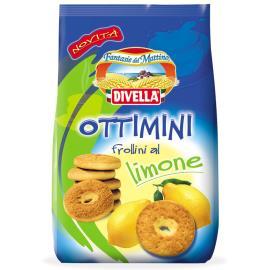 Biscoito Divella Ottimini Limão 400g