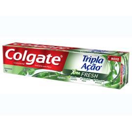 Creme Dental Colgate Tripla Acão Xtra Fresh 70g