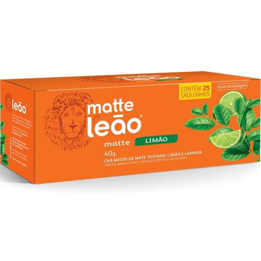 Chá Leão matte limão 40g - Imagem em destaque