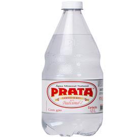 Água Prata com Gás 1,5L