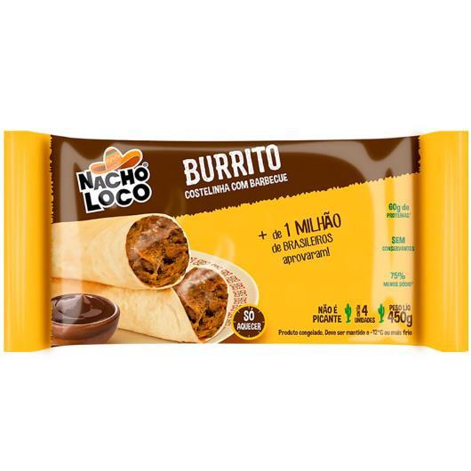 Burritos de costelinha com barbecue 450g - Imagem em destaque