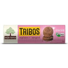 Biscoito orgânico sabor cacau Tribos Mãe Terra 130g