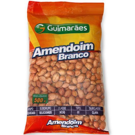 Amendoim Branco Guimarães 500g - Imagem em destaque