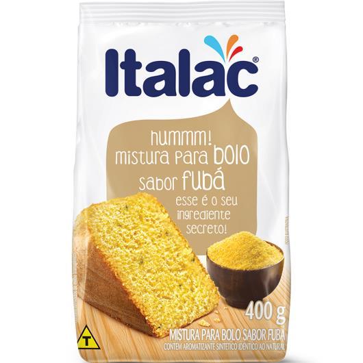 Mistura para Bolo sabor Fubá Italac 400g - Imagem em destaque