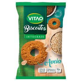 Biscoito Vitao Aveia Integral 80g