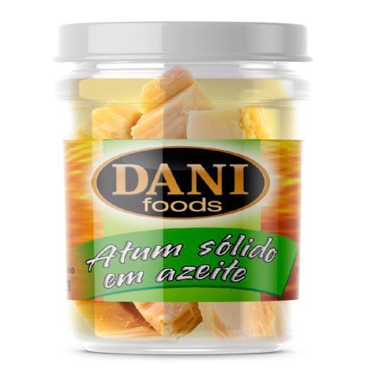 Atum sólido azeite Dani Foods vidro 111g - Imagem em destaque