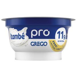 Iogurte grego pro light baunilha Itambé Zero Lactose 120g