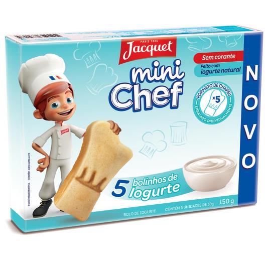 Mini Bolo de Iorgute Mini Chef Jacquet 150g - Imagem em destaque
