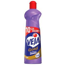 Limpador Veja Gold Multiuso Lavanda e Álcool 10% de desconto 500 ml