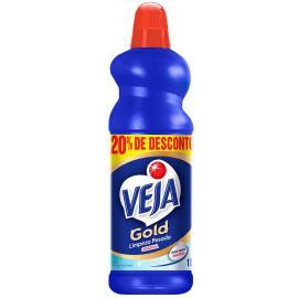 Limpador Veja Gold Original 20% desconto 1L
