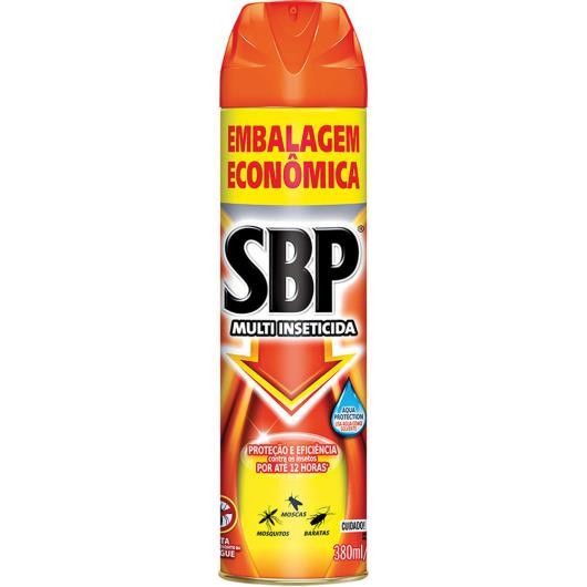 Inseticida SBP multi inseticida embalagem econômica 380ml - Imagem em destaque