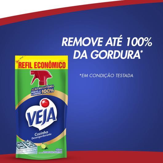 Veja Cozinha Limpador Desengordurante Refil Econômico Limão 400ml - Imagem em destaque