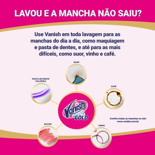 Vanish Oxi Action Tira manchas em Pó para roupas coloridas refil 400g - Imagem em destaque