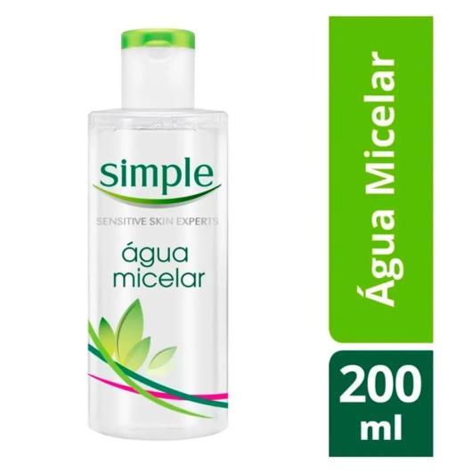 Água Micelar Simple 200ml - Imagem em destaque