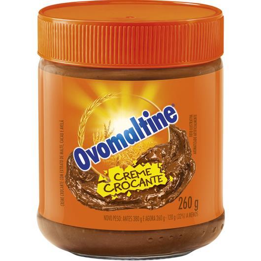 Creme Crocante Ovomaltine 260 g - Imagem em destaque