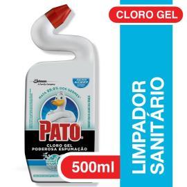 Limpador Sanitário Pato Cloro Gel Ativo Marine 500ml