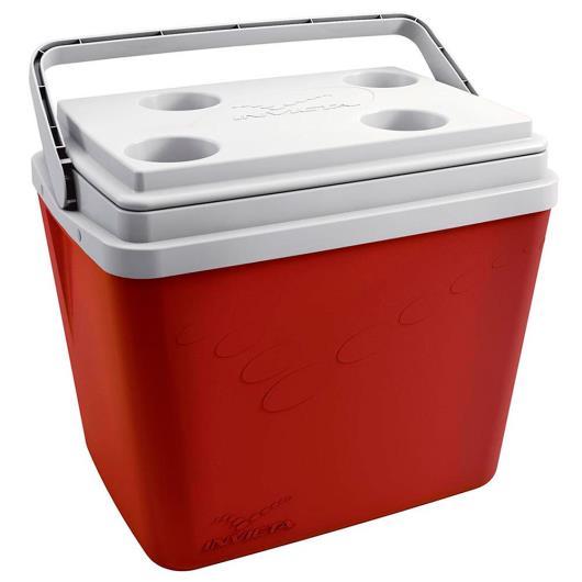 Caixa Térmica Invicta Vermelha 34L - Imagem em destaque