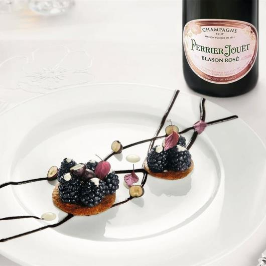 Champagne Blason Rose Perrier Jouet garrafa 750ml - Imagem em destaque