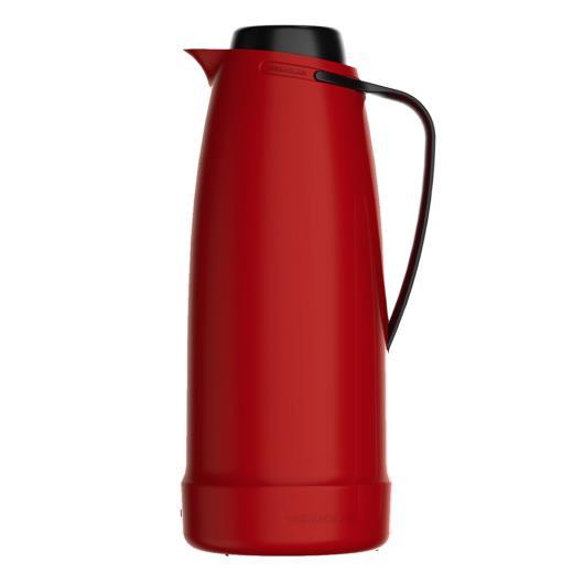 Garrafa Térmica Vermelha 1L Dama unidade - Imagem em destaque