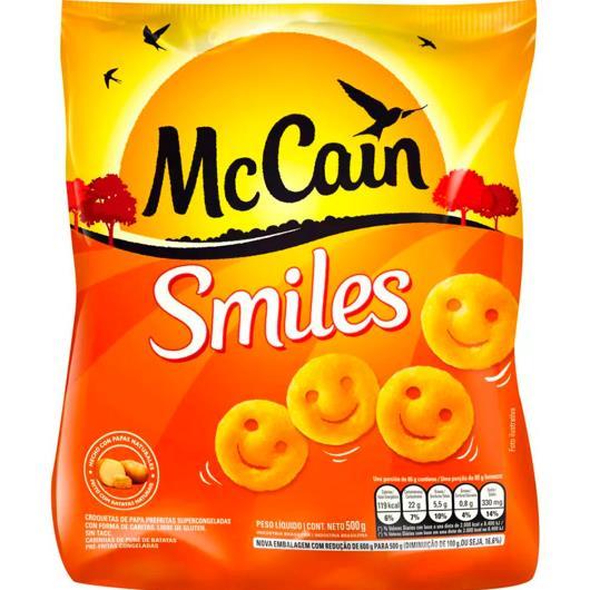 Batata McCain Smiles Congelada 500g - Imagem em destaque