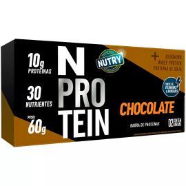Barra Proteína chocolate N Nutry 60g
