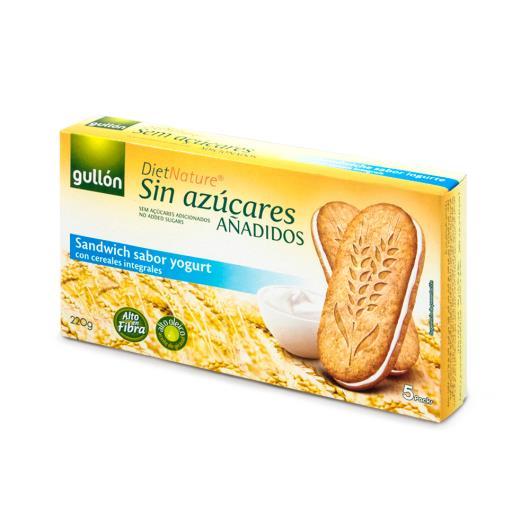 Biscoito recheado Creme de iogurte Diet Nature Gullon 220g - Imagem em destaque